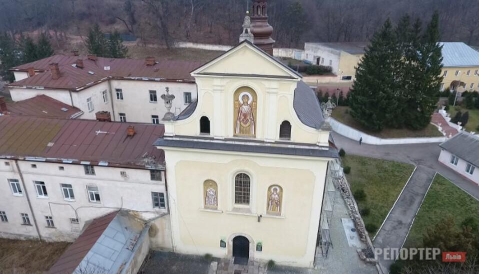 Львівський храм, де раніше ув'язнювали неповнолітніх порушниць, нарешті вирішили реставрувати