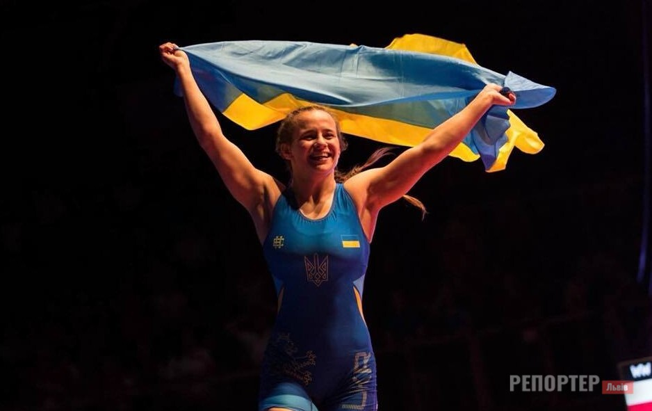 The best athlete in Lviv region since the beginning of the year is Borshchina Lisak