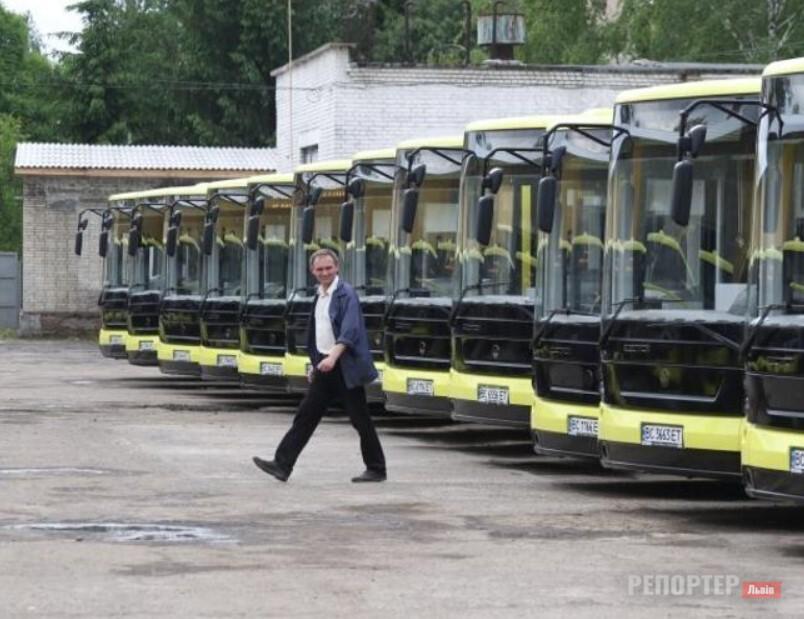Львів закупить сотню автобусів та десяток трамваїв на кредитні гроші