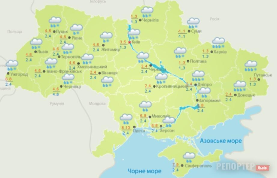 70 населених пунктів Львівщині без електрики через буревій - Фото