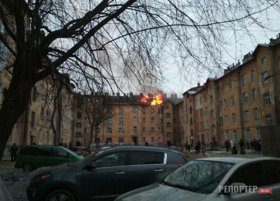 У львівській багатоповерхівці сталась пожежа через вибух газу - Фото