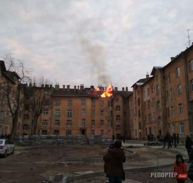 У львівській багатоповерхівці сталась пожежа через вибух газу