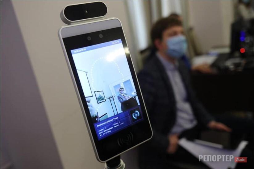 У Львівській мерії тестують нове обладнання для безпеки під час пандемії